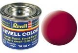 Revell syntetická 14ml - karmínová červená matná č. 36