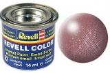 Revell syntetická 14ml - měď matná č.93