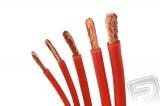 Kabel silikon 6.0mm2 1m (červený)