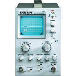 Analogový osciloskop Voltcraft 610/2, 1kanálový, 10 MHz