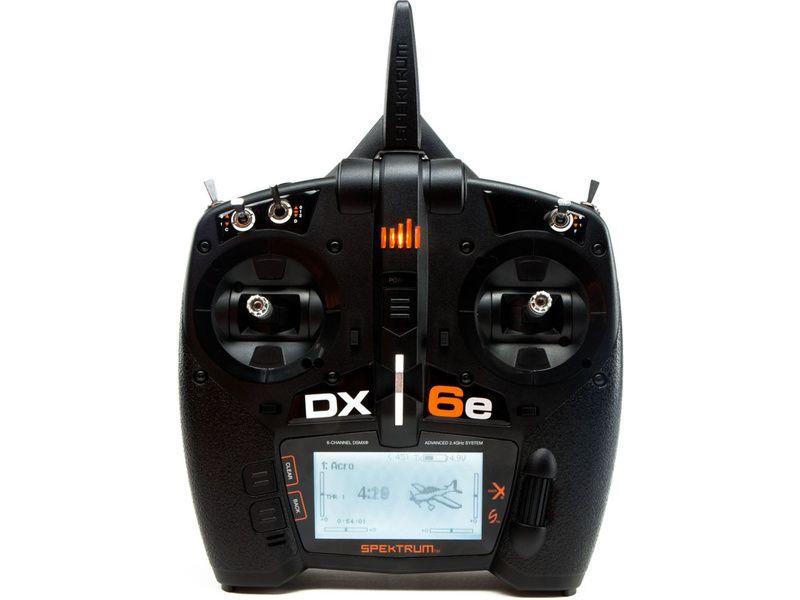 Spektrum DX6e DSMX Mód 1-4 pouze vysílač
