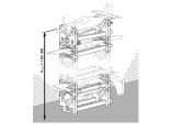 Standbox plane 4v1 vyrobeno v ČR - avi001 (2 ks) - Velikonoční akce