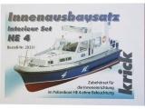Krick Policejní člun HE 4 - sada vnitřní vestavby
