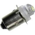 LED žárovka P13.5s, 3 V, 35 lm, bílá