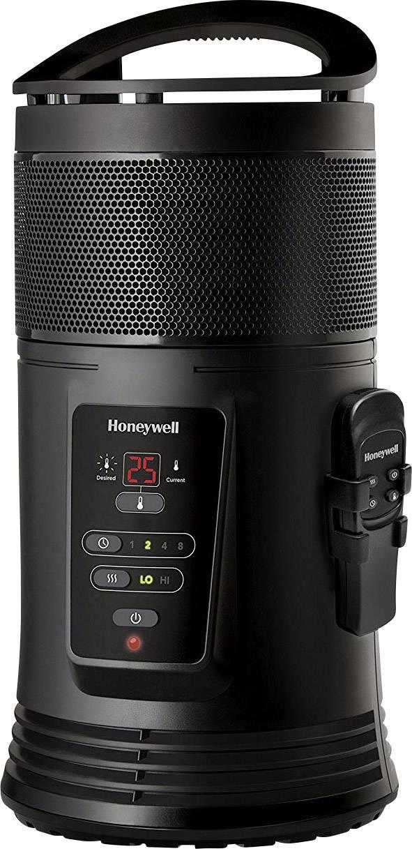 Teplovzdušný ventilátor Honeywell AIDC HZ445E4 HZ445E4, 22 m², 1200 W, 1800 W, černá