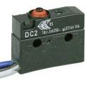 Mikrospínač Cherry Switches DC2C-C3AA, IP67, 250 V/AC, 10 A, 1x on/(on)