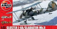 1:72 Gloster Gladiator J-8A/Gladiator Mk.II