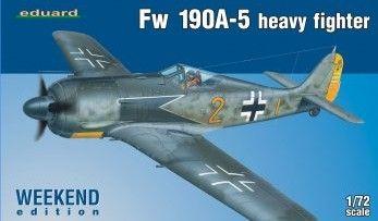 Fw 190A-5 heavy fighter (Weekend edice) 1:72 Eduard