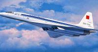1:144 Supersonic Passenger Aircraft Tupolev Tu-144D