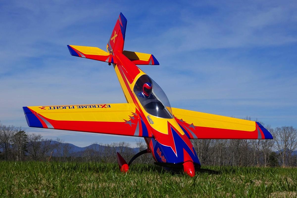 "85"" Extra 300 EXP - žlutá/červená/modrá 2,15m"