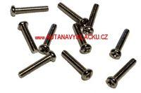 Šrouby 3x16mm - CARSON 11452 (10 ks)