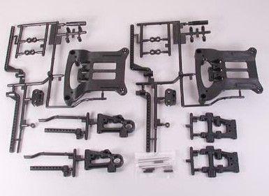 Tamiya TT-01D B Parts ramena pro DRIFT verzi SP-51217