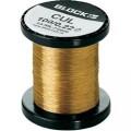 Měděný drát smaltovaný lakem Block CUL 100/0,22, Vnější Ø (vč. izolace) 0.22 mm, 1 balení
