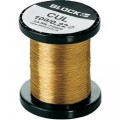 Měděný drát smaltovaný lakem Block CUL 200/0,28, Vnější Ø (vč. izolace) 0.28 mm, 1 balení