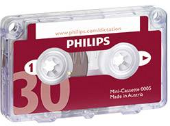 Kazeta do diktafonu Philips LFH0005/60 Maximální čas nahrávání 30 min