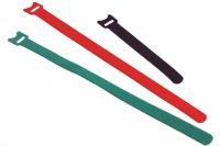 Stahovací páska na suchý zip, černá 150/15mm