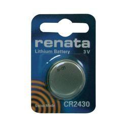 Knoflíková baterie Renata CR 2430, lithium, 700359