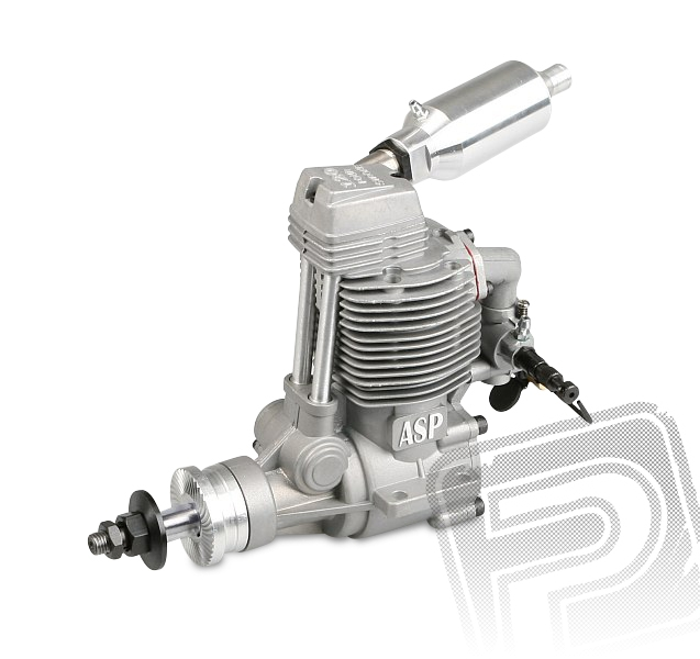 ASP FS 120AR 20ccm RC s tlumičem