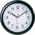 Quartz nástěnné hodiny EuroTime 22221, Ø 25 cm, černá