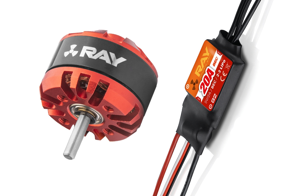 Combo set RAY G3 C2822-1200 + RAY G2 20A regulátor