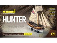 MAMOLI Hunter kutr 1:72 kit