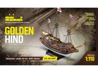 MINI MAMOLI Golden Hind 1:110 kit