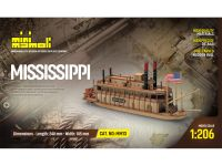 MINI MAMOLI Mississippi 1:206 kit