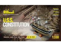 MINI MAMOLI U.S.S. Constitution 1:330 kit