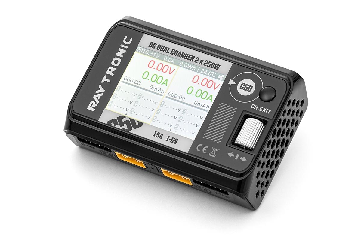 RAYTRONIC C50 nabíječ s balancerem 500W