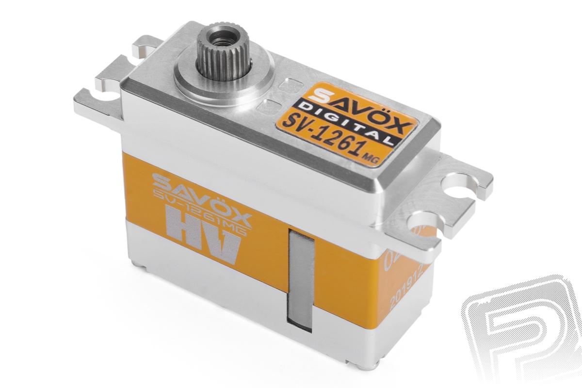 SV-1261MG HiVolt digitální servo (20kg-0,095s/60°)