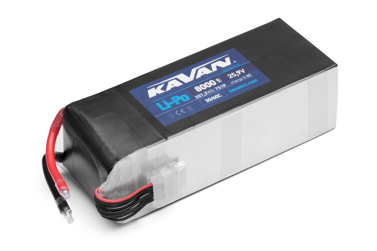 KAVAN - Li-Po 8000 mAh/25,9 V 30/60C, 207,2 Wh