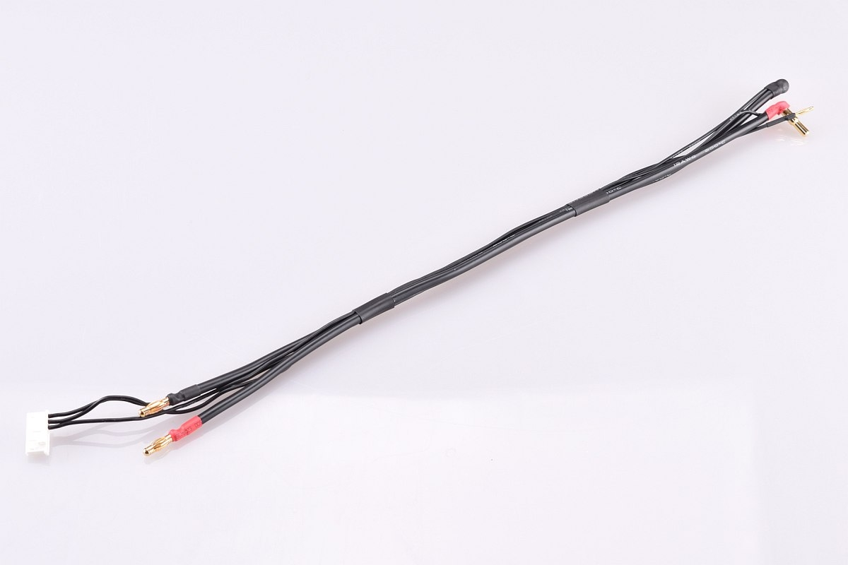 2S černý nabíjecí kabel - krátký - (4/5mm, 7-pin PQ)