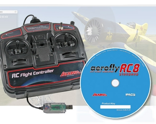 Aerofly RC8 STANDARD (Windows) s USB ovladačem