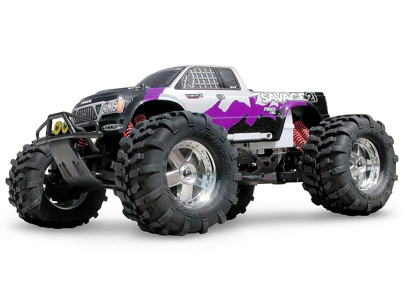 Karoserie čirá GT-1 Truck Nitro (SAVAGE 21, T MAXX)
