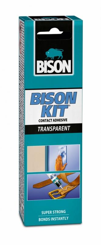 BISON KIT TRANSPARENT 55ml čiré kontaktní lepidlo