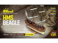 MINI MAMOLI H.M.S. Beagle 1:121 kit
