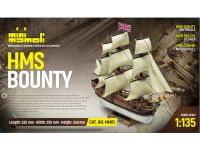 MINI MAMOLI H.M.S. Bounty 1:135 kit