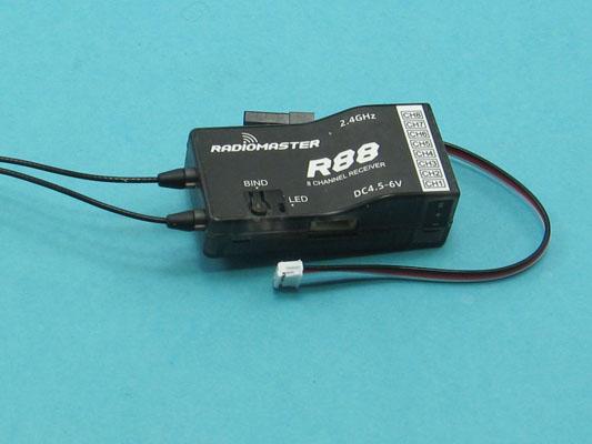 Přijímač Radiomaster R88
