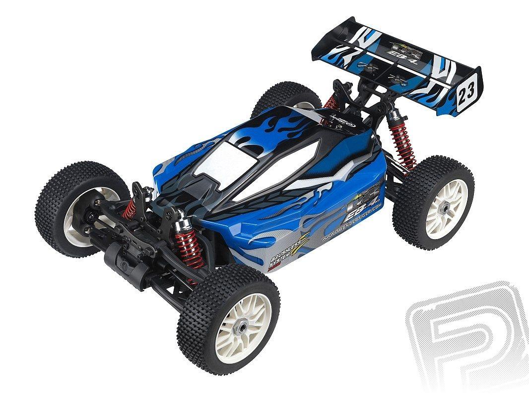 EB-4 G3 E-Buggy, modrá, RTR bez baterie