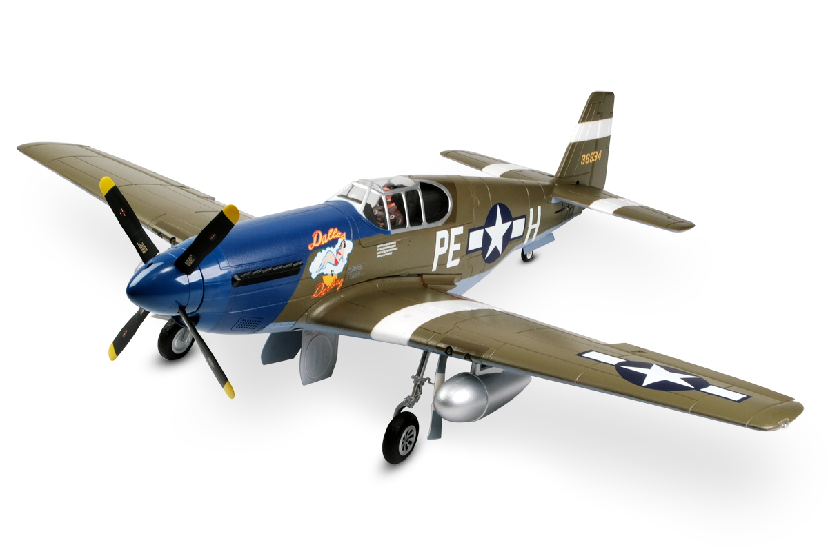 "P-51B Mustang ""Dallas Darling"" V8 - ARF"