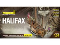 MAMOLI Halifax 1768 1:54 kit