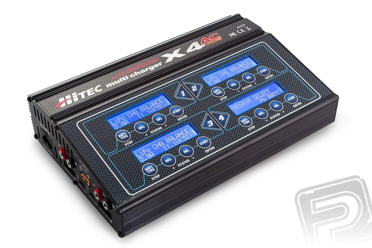 Nabíječ MultiCharger X4 AC Plus Hitec
