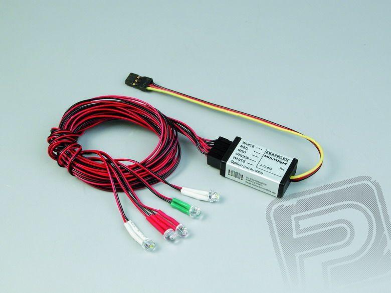 73020 světelný systém FUNCUB/PORTER