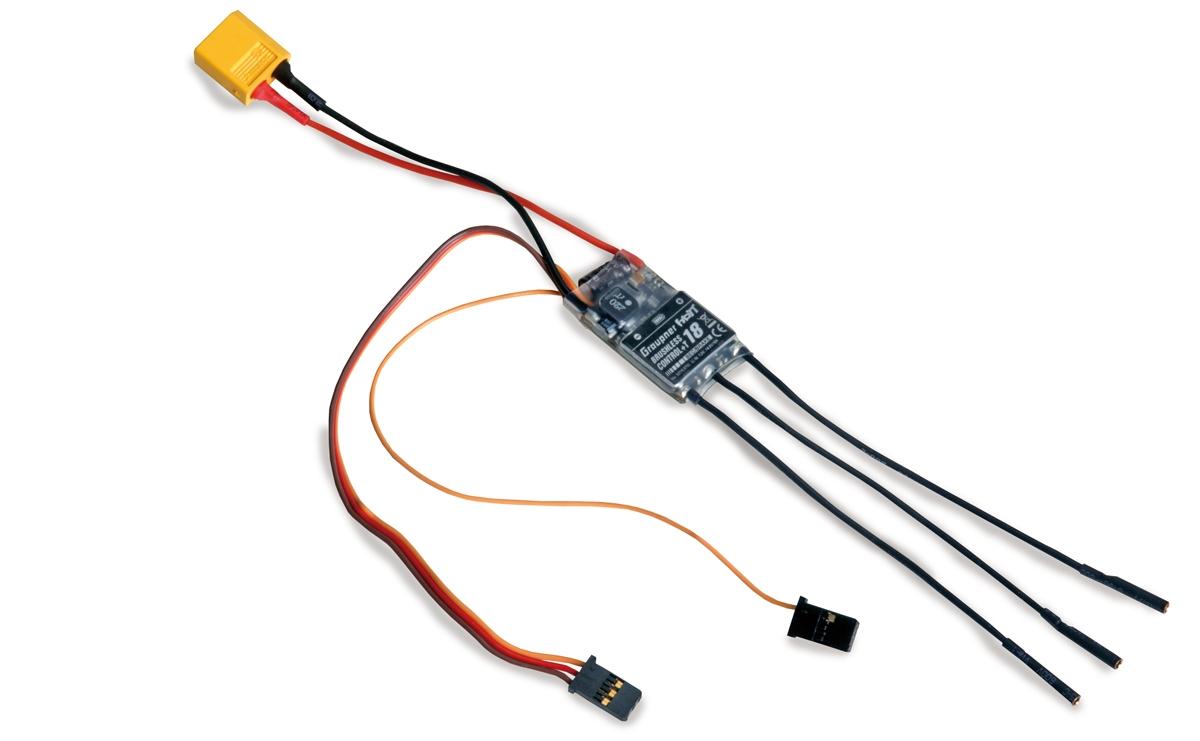 Brushless control + Telemetrie 18 BEC XT-60