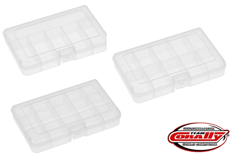 Plastové organizéry 165x112x31mm (3 ks.)