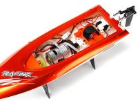 High Speed Racing Boat 460mm - Orange (RTR)