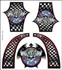 XXX Main - Airbrush šablona - Skull Monkey