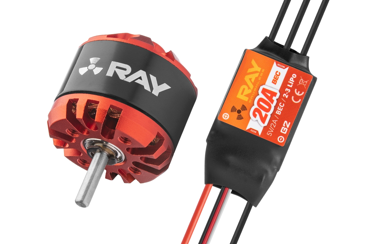 Combo set RAY G3 C2826-1400 + RAY G2 20A regulátor